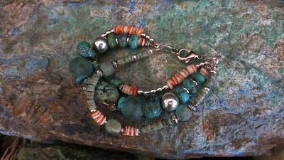 Jewelry - Spiny And Turq. #b016 by Barbara Prestridge