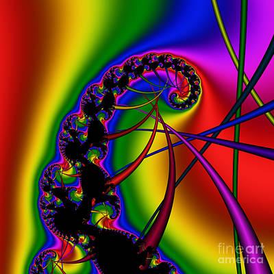 Spiral 122 Art Print by Rolf Bertram