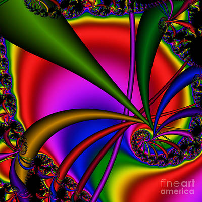 Spiral 123 Art Print by Rolf Bertram
