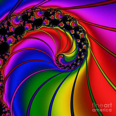 Spiral 124 Art Print by Rolf Bertram