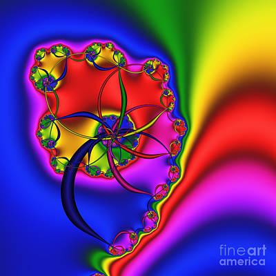 Spiral 141 Art Print by Rolf Bertram