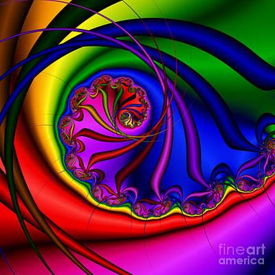 Spiral 145 Art Print by Rolf Bertram