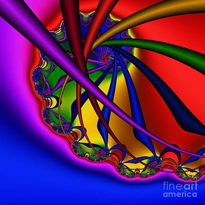 Spiral 217 Art Print by Rolf Bertram