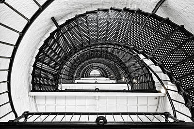 Spiral Staircase Photograph - Spiral Ascent by Janet Fikar