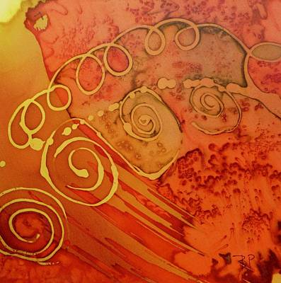 Painting - Spiral by Barbara Pease