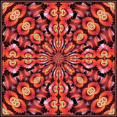 Digital Art - Spiral  Caverns K8 Tile 07012017-1 by Doug Morgan