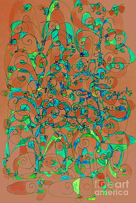 Painting - Spiral Dance by Nancy Kane Chapman