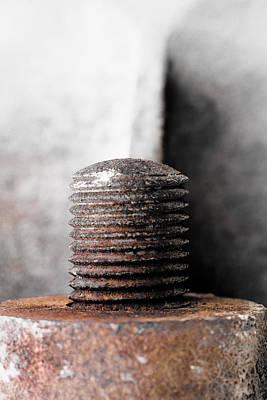 Photograph - Spiral Interrupted by Edgar Laureano