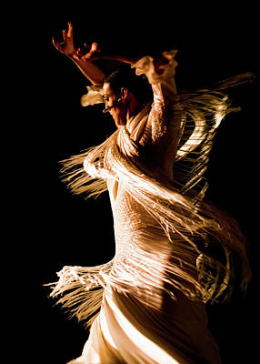 Beautiful Woman Photograph - Marta Robles - Spiral by Elzbieta Petryka
