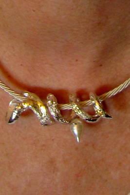 Jewelry - Spiral Of Peace   Sideways by Kimberly Clark - Dragonfly Studios