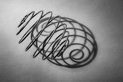 Chrome Wall Art - Photograph - Spiral Shape And Form by Scott Norris