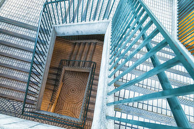 Photograph - Spiral Staircase 1 by Jonathan Nguyen