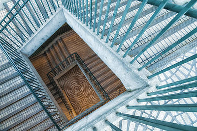 Photograph - Spiral Staircase 2 by Jonathan Nguyen