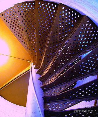 Photograph - Spiral Staircase by Colleen Kammerer