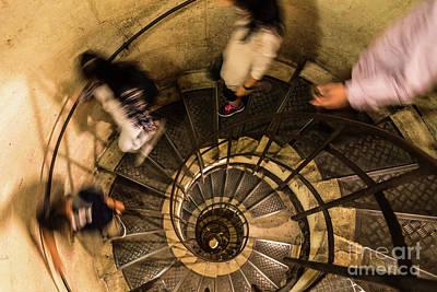 Spiral Staircase Art Print by Didier Marti