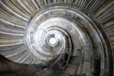 Spiral Staircase Art Print by Falko Follert