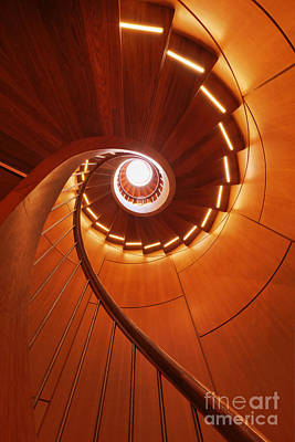 Upscale Photograph - Spiral Staircase by Jeremy Woodhouse