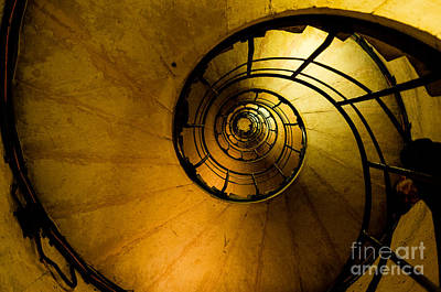 Photograph - Spiral Staircase by M G Whittingham