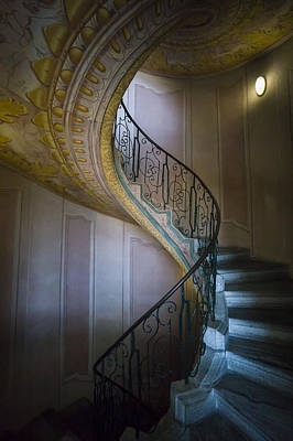 Photograph - Spiral Staircase Melk Abbey II by Van Sutherland