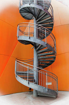 Photograph - Spiral Staircase, Panama City by Venetia Featherstone-Witty