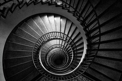 Photograph - Spiral Staircase by Stuart Litoff