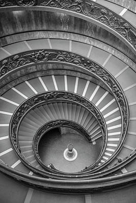 Photograph - Spiral Staircase Vatican  by John McGraw