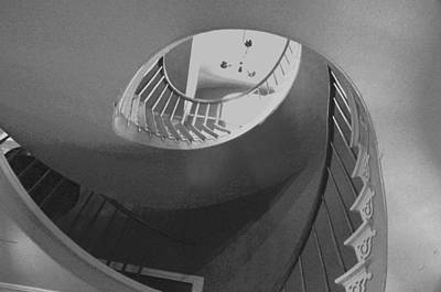 Photograph - Spiral Stairs by Helen Haw
