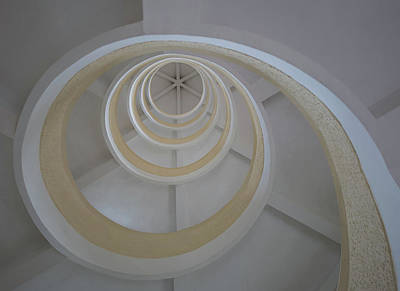 Photograph - Spiral Stairwell by Jocelyn Kahawai