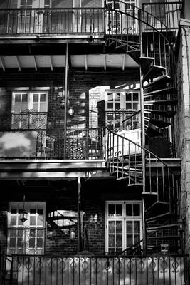 Photograph - Spiral To The 3rd Floor by Nadalyn Larsen