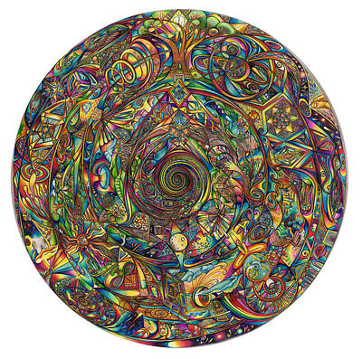 Creativity Drawing - Spiralia by diNo