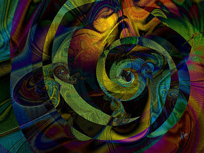 Digital Art - Spiralicious by Kiki Art
