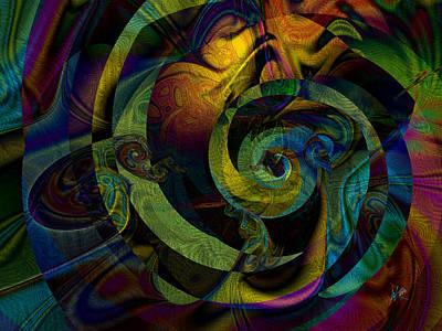 Digital Art - Spiralicious by Kiki Art