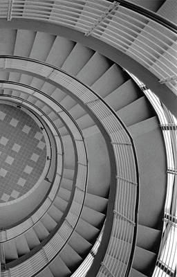 Art Print featuring the photograph Spiraling Down  by Tara Lynn