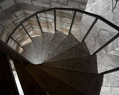 Photograph - Spiraling Downward by Karen Musick