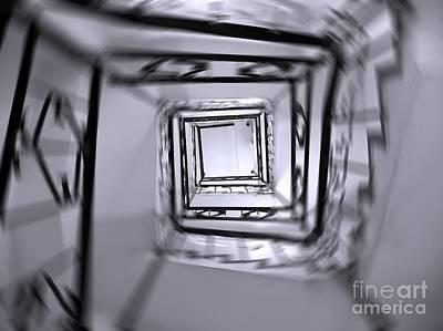 Photograph - Spiraling Stairs by Yali Shi