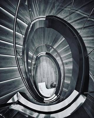 Photograph - Spirals by Mike Dunn