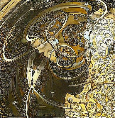 Surrealism Digital Art - Spirals of Time by Bruce Rolff