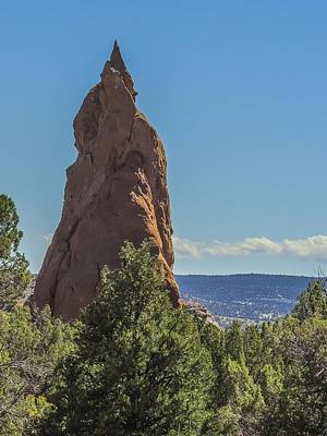 Photograph - Spire Along Panorama Trail by NaturesPix