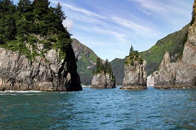 Photograph - Spire Cove, Alaska by Gloria Anderson