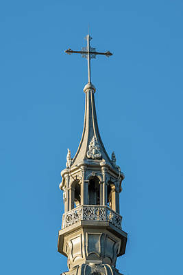 Photograph - Spire Seminaire De Quebec by Chris Bordeleau