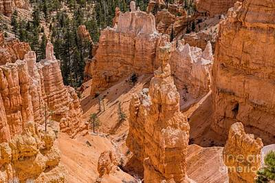 Photograph - Spires And Hoodoos by Peggy Hughes