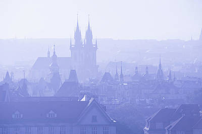 Photograph - Spires And Roofs Of Prague by Jenny Rainbow