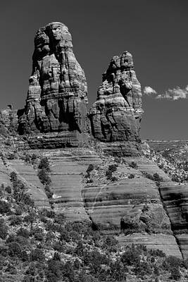 Photograph - Spires by Gary Lengyel