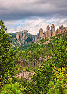 Photograph - Spires Of Custer by John M Bailey