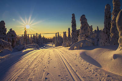 Photograph - Spires Of Winter by Andreas Dobeli