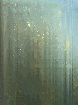 Spires Through A Window Art Print