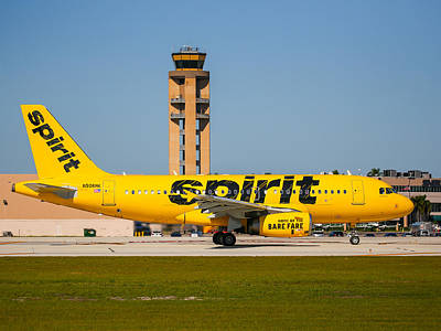 Photograph - Spirit Airline by Dart and Suze Humeston