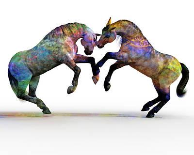 Animals Digital Art - Spirit and Spiritual  by Betsy Knapp