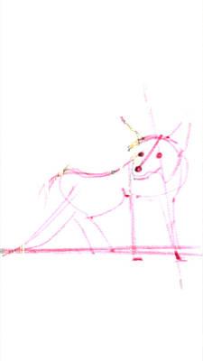 Painting - Spirit Animal . Ghost Fox by John Jr Gholson