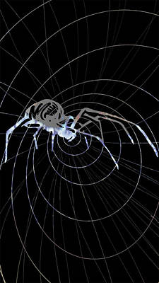 Painting - Spirit Animal . Spider by John Jr Gholson